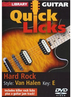 Lick Library: Quick Licks - Van Halen Hard Rock
