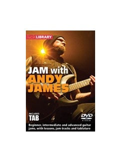 Lick Library: Jam With Andy James (DVD)