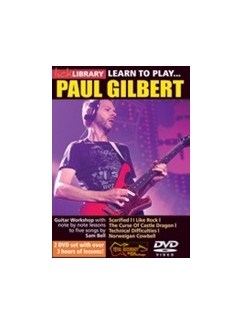 Lick Library: Learn To Play Paul Gilbert (2 DVD Set)