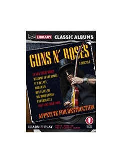 Lick Library: Classic Albums - Guns N Roses Appetite for Destruction (DVD)