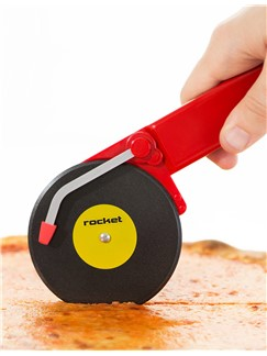 Rocket: Top Spin - Pizza Cutter (Red)