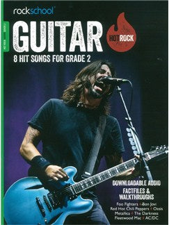 Rockschool: Hot Rock Guitar - Grade 2 (Book/Online Audio)