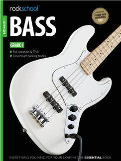 Rockschool Bass - Grade 1 (Book/Download Card)