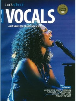 Rockschool: Vocals Grade 8 - Female (Book/Audio Download)