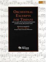 Randy Max: Orchestral Excerpts For Timpani