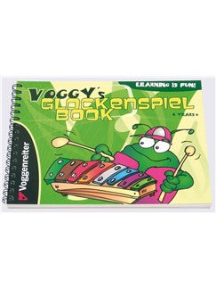 Martina Holtz: Voggy's Glockenspiel Book (Book/CD)