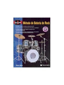 Basix Método Batéria De Rock + CD (Spanish Edition)