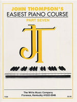 John Thompson's Easiest Piano Course: Part 7