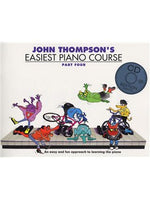 John Thompson's Easiest Piano Course: Part 4  (Book And CD)