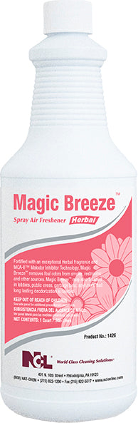 MAGIC BREEZE-Herbal Multi-Purpose Cleaner / Deodorizer, 32 oz