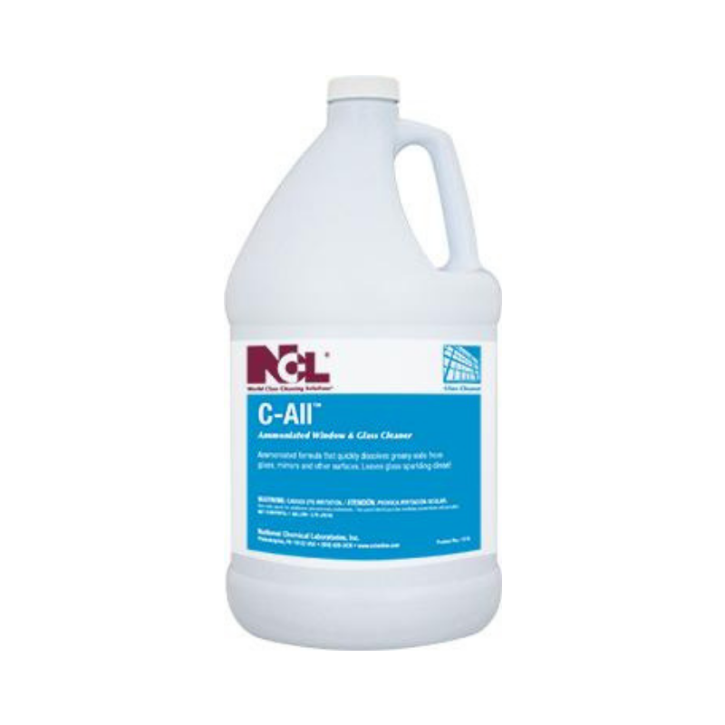 C-All Ammoniated Glass & Window Cleaner, 1 gal (Carton of 4)