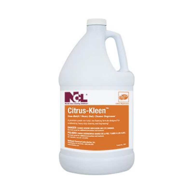 Citrus-Kleen Non-Butyl Cleaner Degreaser, 1 gal (Carton of 4)