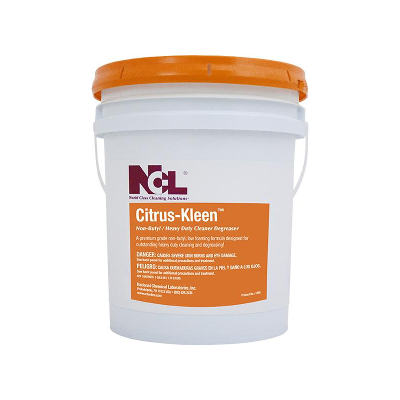 Citrus-Kleen Non-Butyl Cleaner Degreaser, 5 gal (Each)