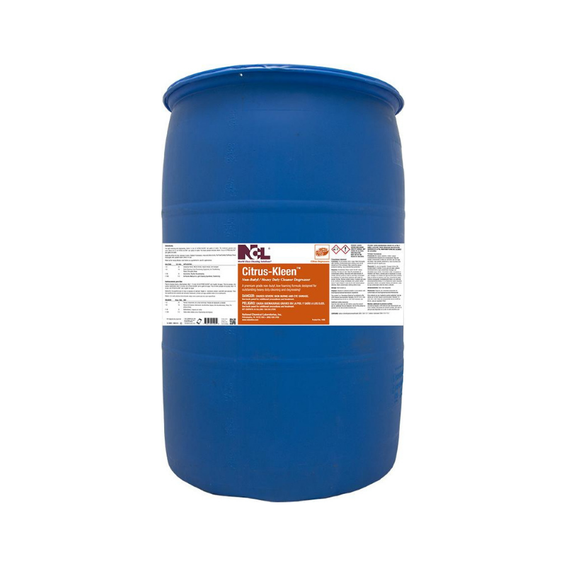 Citrus-Kleen Non-Butyl Cleaner Degreaser, 55 gal (Each)