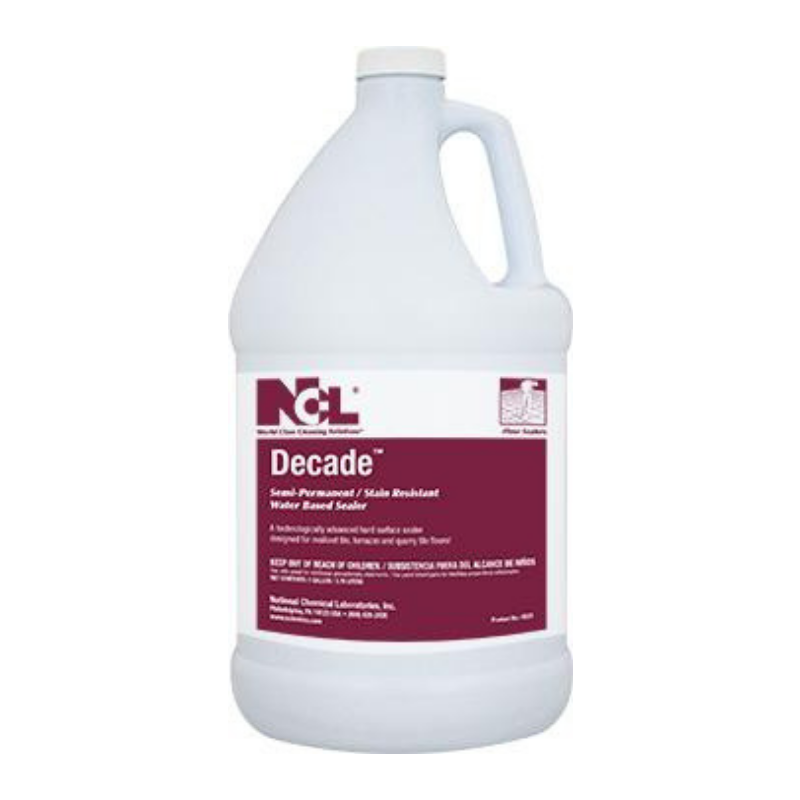 Decade Semi-Permanent/Stain Resistant Water Based Sealer, 1 Gal (Carton of 4)