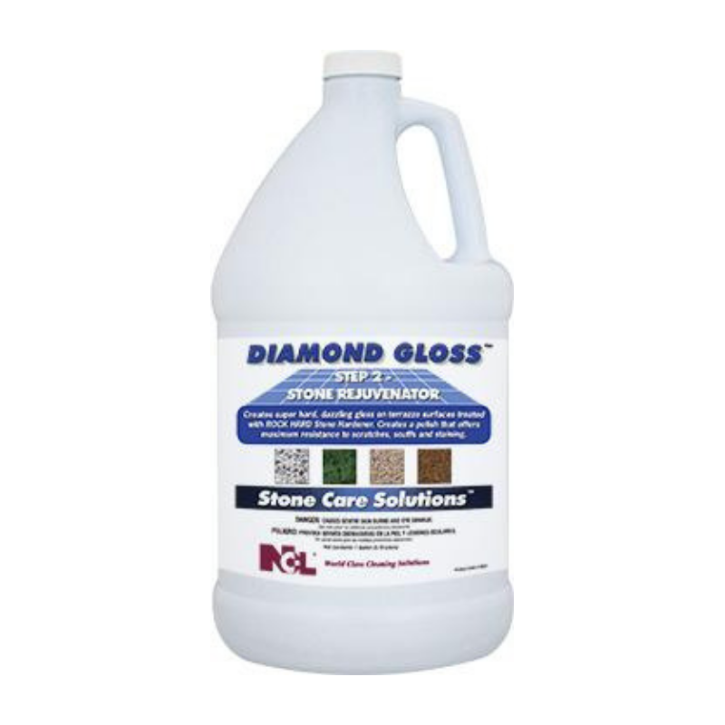 Diamond Gloss Step 2 - Stone Rejuvenator, 1 gal (Carton of 4)