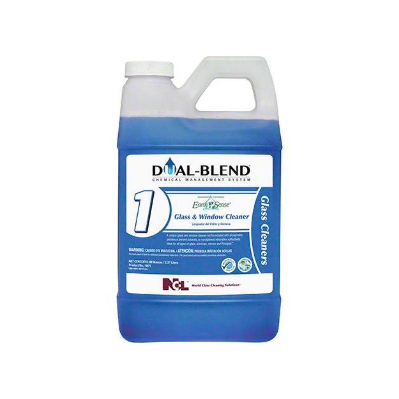 Dual-Blend #1 Earth Sense® Glass & Window Cleaner, 80 oz. (Carton of 4)