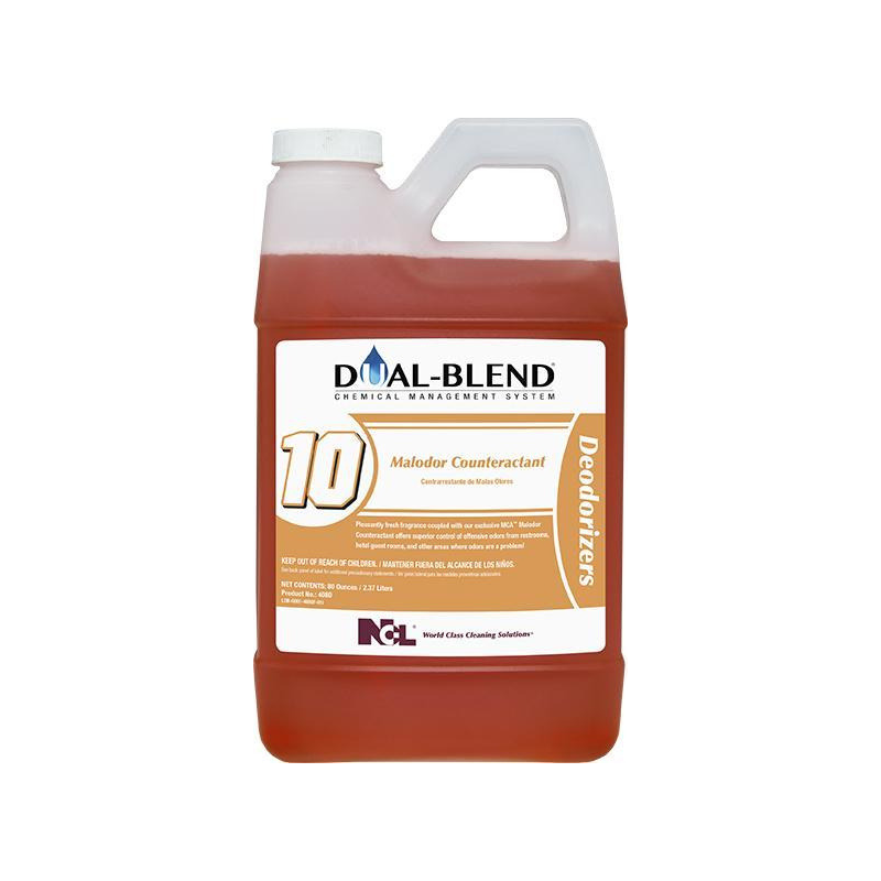 Dual-Blend #10 Malodor Counteractant, 80 oz. (Carton of 4)