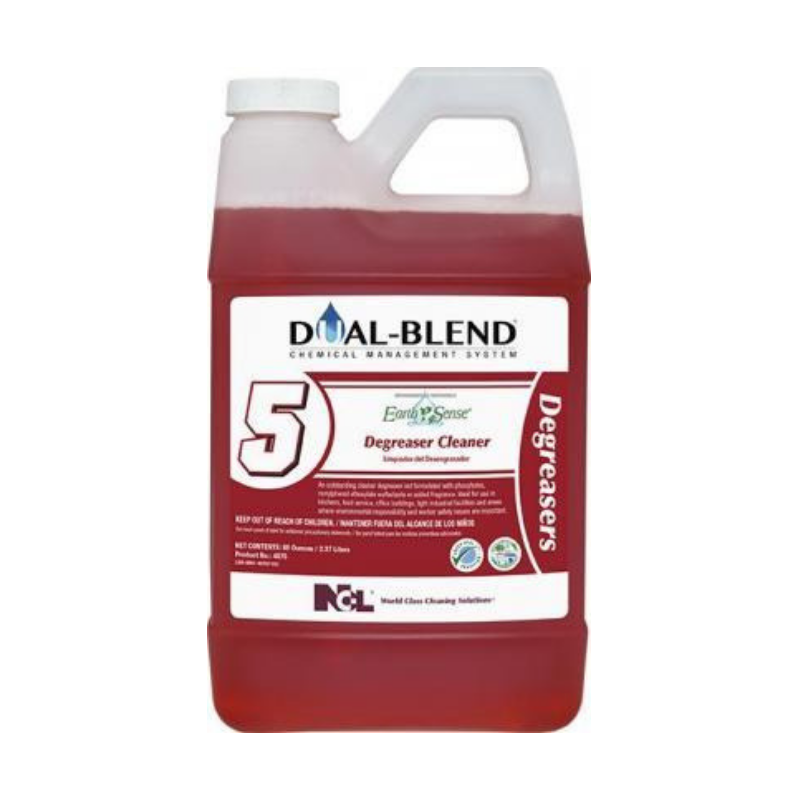 Dual-Blend #5 Earth Sense® Degreaser Cleaner, 80 oz. (Carton of 4)