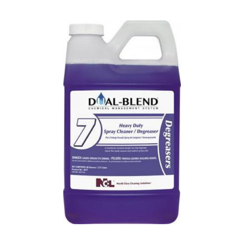 Dual-Blend #7 Heavy Duty Spray Cleaner / Degreaser, 80 oz. (Carton of 4)