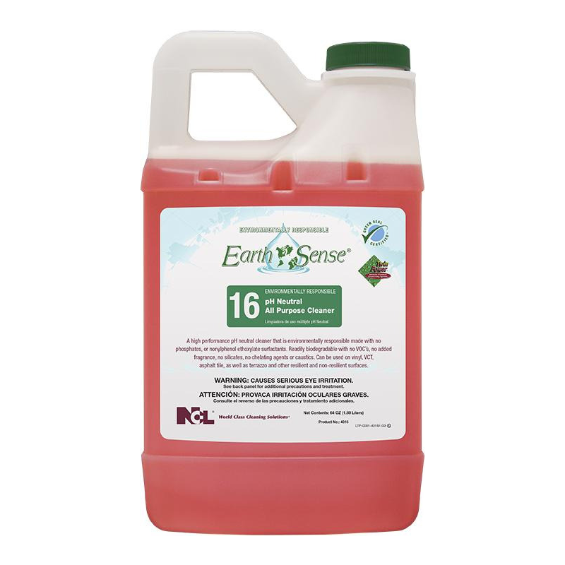 Earth Sense® #16 pH Neutral All-Purpose Cleaner, 64 oz (Carton of 6)