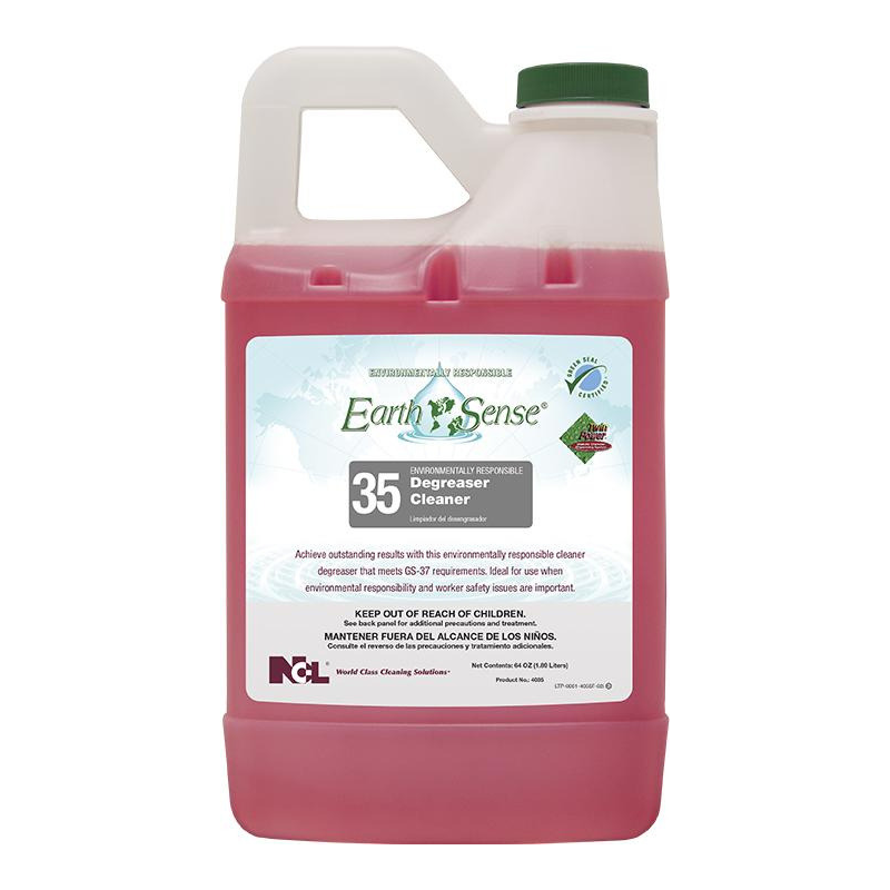 Earth Sense® #35 Degreaser Cleaner, 64 oz (Carton of 6)