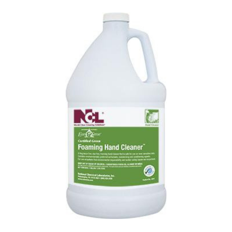 Earth Sense® Certified Green Foaming Hand Cleaner, 1 gal (Carton of 4)