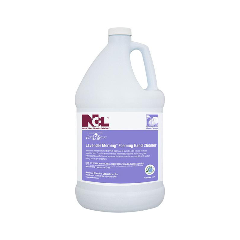 Earth Sense® Lavender Morning Foaming Hand Cleaner, 1 gal (Carton of 4)