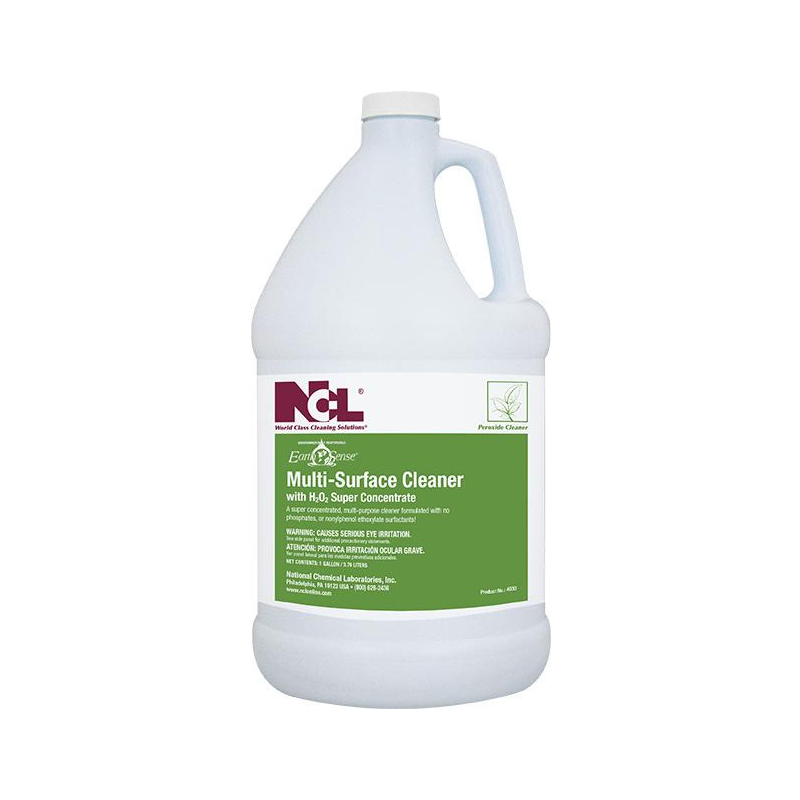 Earth Sense® Multi-Surface Cleaner With H2O2 Super Concentrate, 1 gal (Carton of 4)