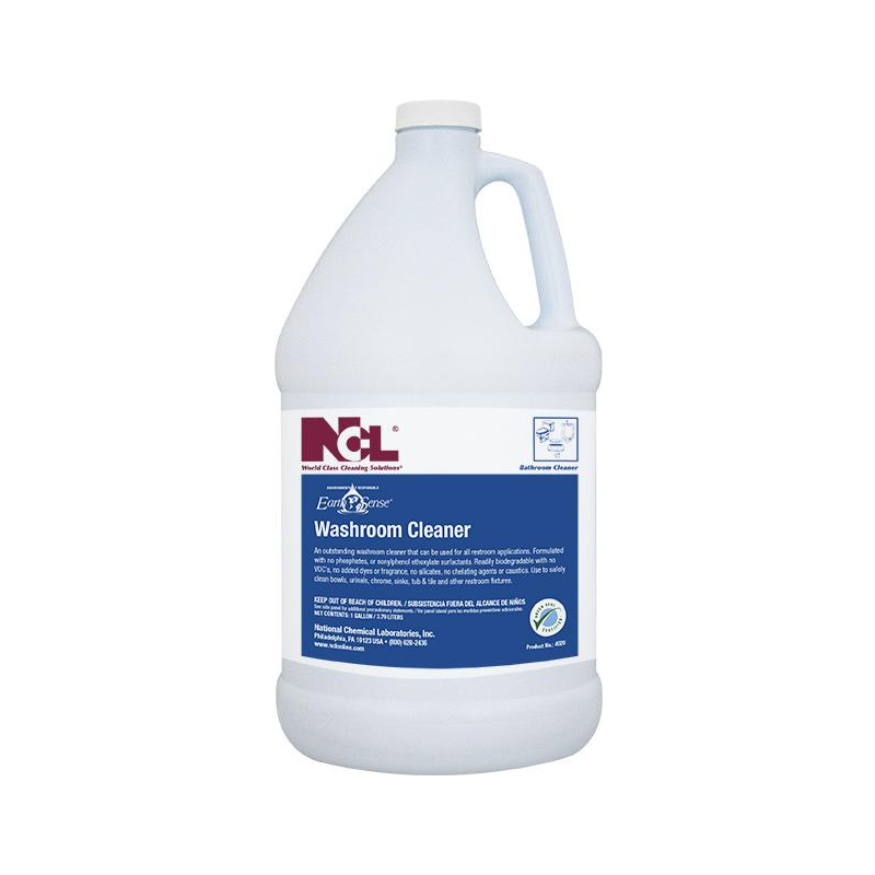 Earth Sense® Washroom Cleaner, 1 gal (Carton of 4)