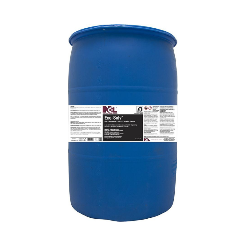 Eco-Solv Non Chlorinated / Non CFC Safety Solvent, 55 gal (Drum)
