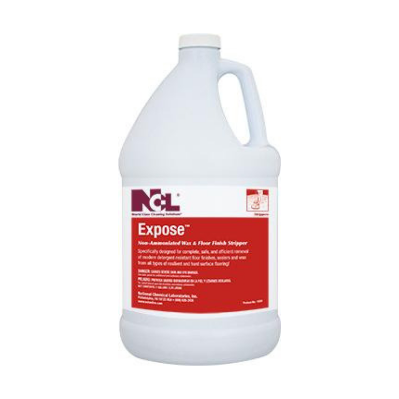 Expose Non-Ammoniated Wax and Floor Finish Stripper, 1 Gal (Carton of 4)