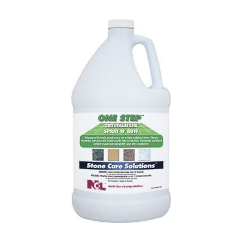 One Step Crystallizer Spray N' Buff, 1 gal (Carton of 4)