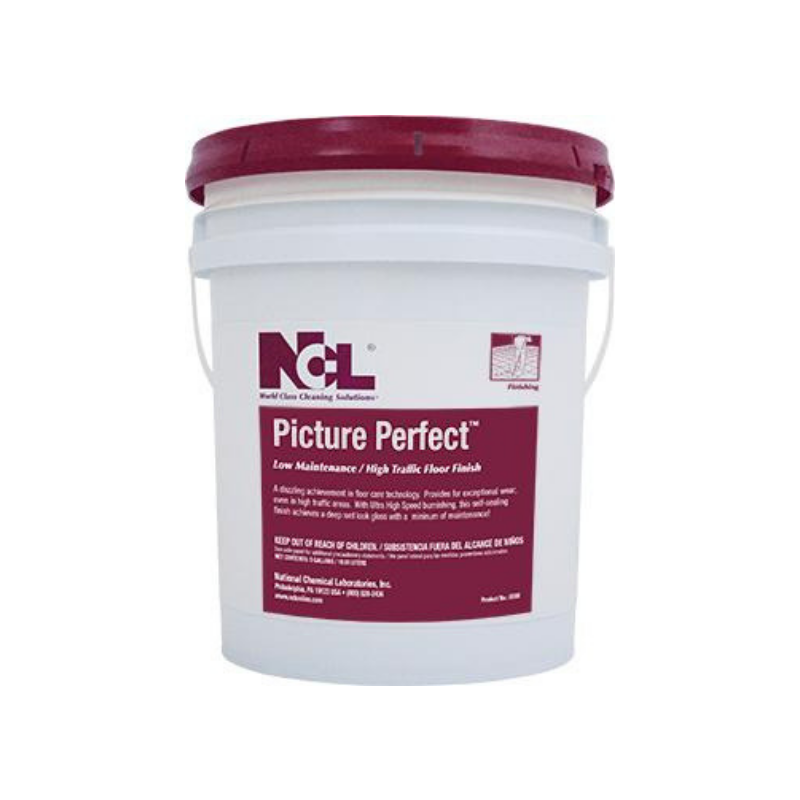 Picture Perfect™ Low Maintenance / High Traffic UHS Floor Finish, 5 gal (Each)