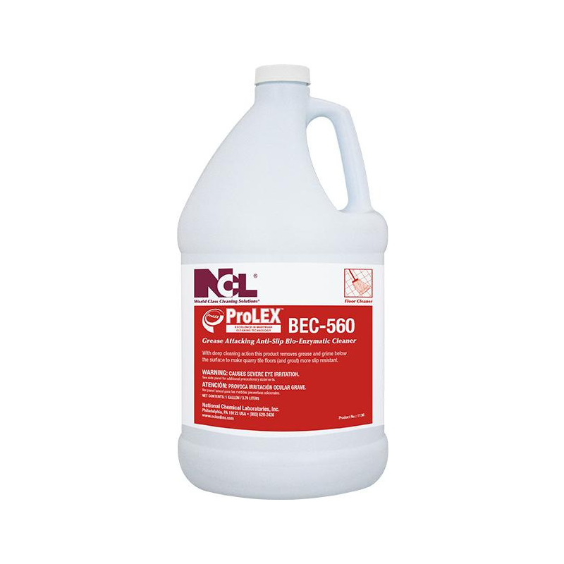 ProLEX™ BEC-560 Grease Attacking Anti-Slip Bio-Enzymatic Cleaner, 1 gal. (Carton of 4)