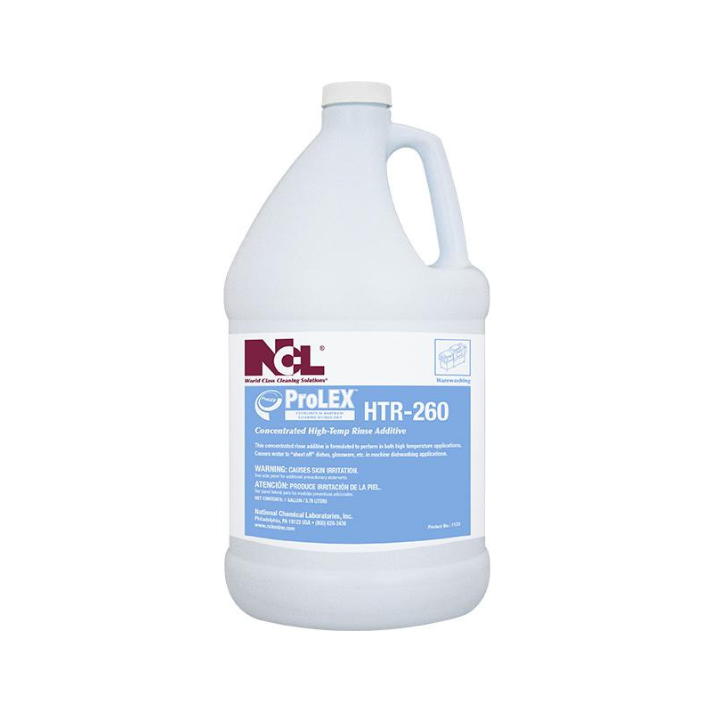ProLEX™ HTR-260 Concentrated High Temp Rinse Additive, 1 gal. (Carton of 4)