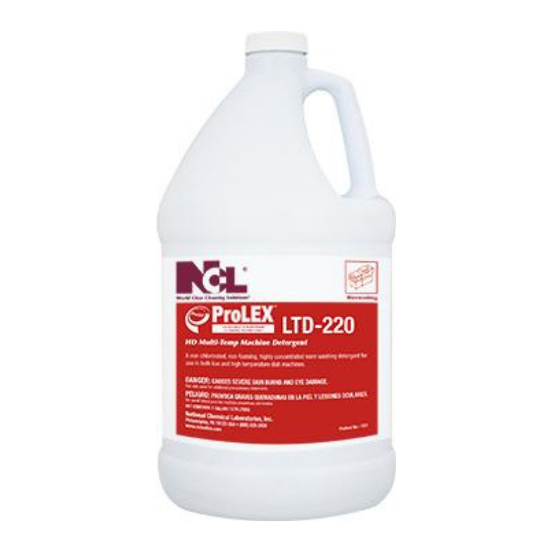 ProLEX™ LTD-220 Multi Temp Machine Detergent, 1 gal. (Carton of 4)