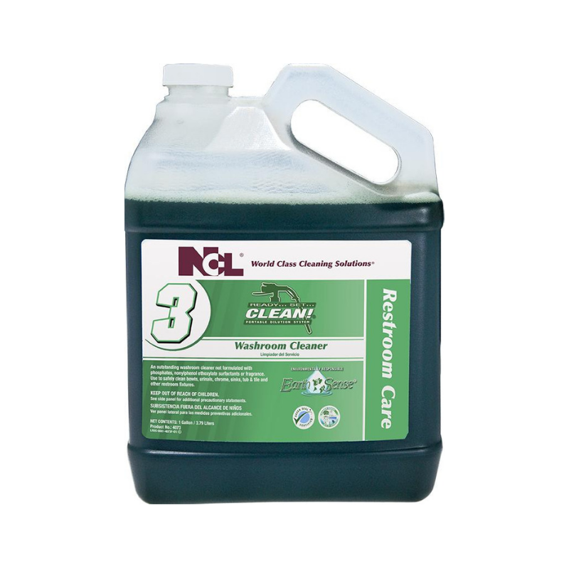 RSC #3 Earth Sense® Washroom Cleaner, 1 gal