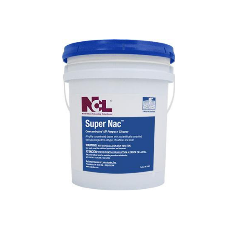 Super Nac Concentrated All Purpose Cleaner, 55 gal (Drum)