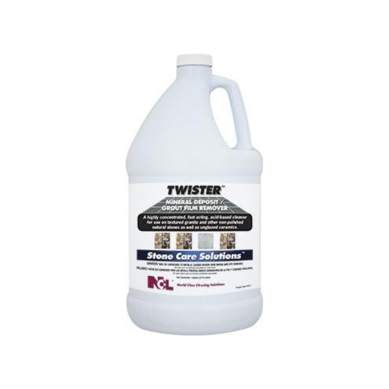 Twister Mineral Deposit / Grout Film Remover, 1 gal (Carton of 4)