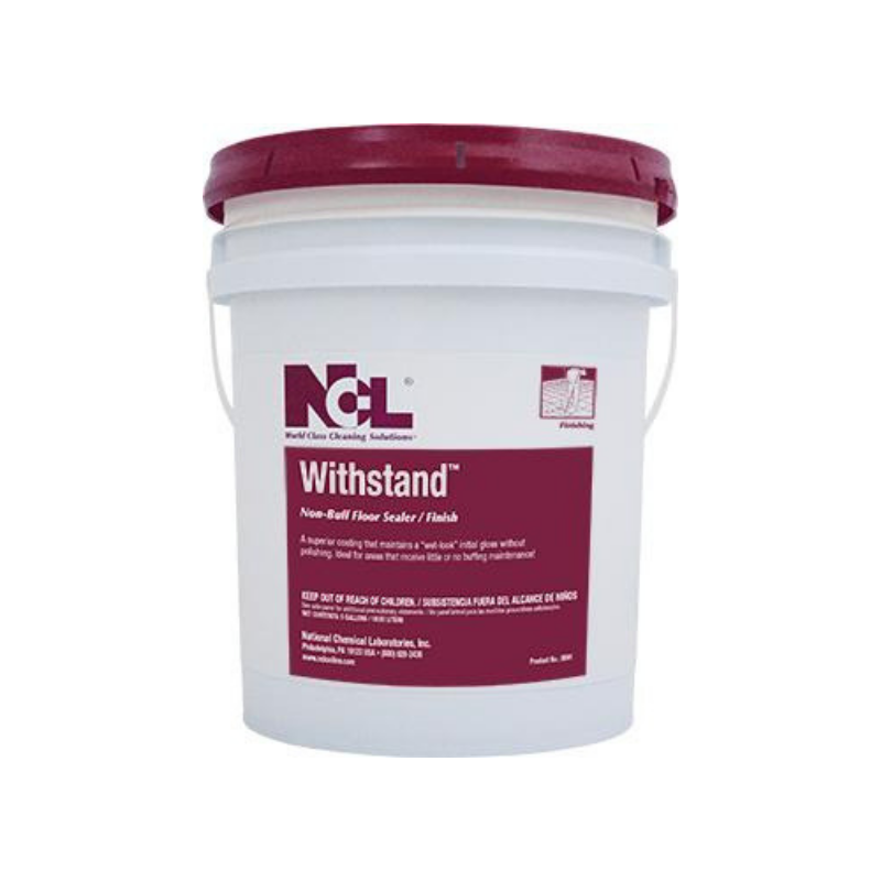 Withstand Non-Buff Floor Sealer Finish, 5 gal (Each)
