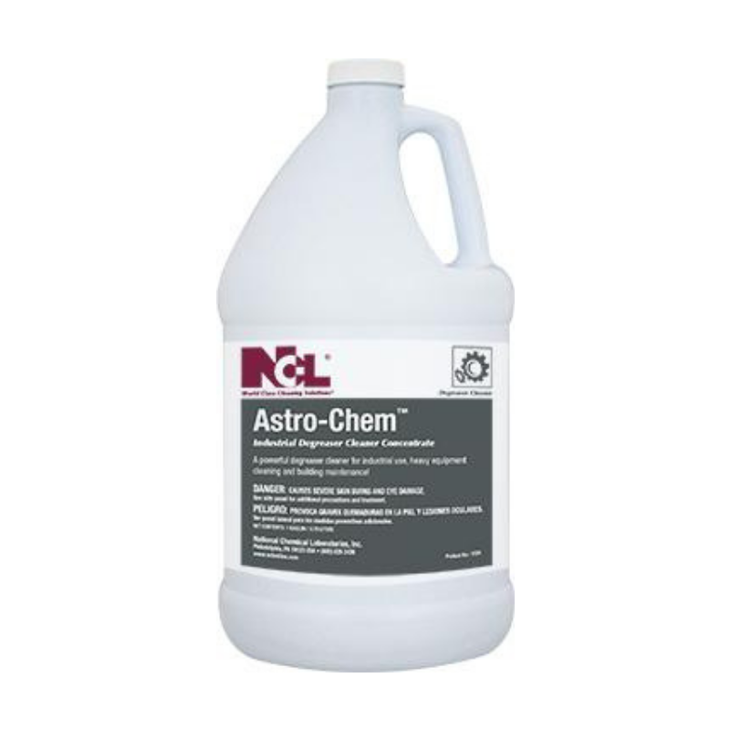 Astro-Chem Industrial Degreaser Cleaner Concentrate, 1 gal (Carton of 4)