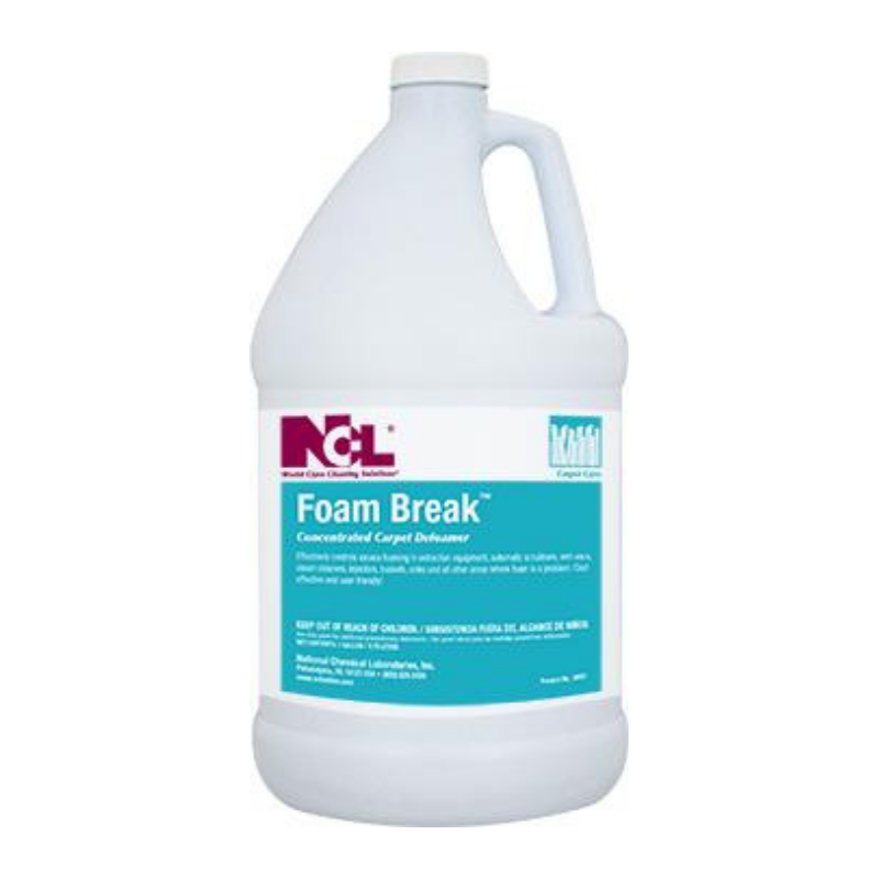 Foam-Break Concentrated Carpet Defoamer, 1 gal (Carton of 4)
