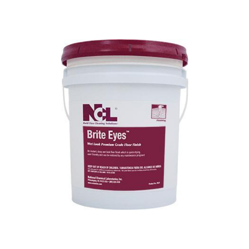 Brite Eyes Wet Look Premium Grade Floor Finish, 5 Gal (Each)