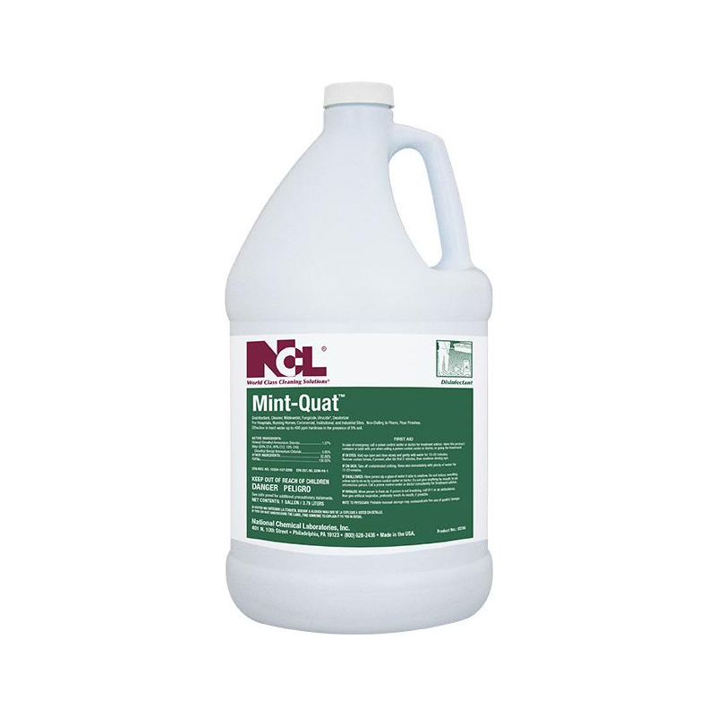 Mint-Quat Disinfectant Cleaner, 1 gal (Carton of 4) All NCL products are on a 2 week lead time