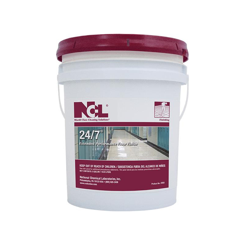 24-7 Extended Performance Floor Finish, 5 Gal (Each)