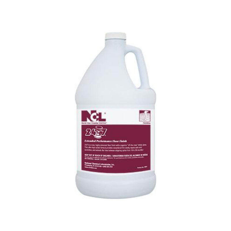 24-7 Extended Performance Floor Finish, 1 Gal (Carton of 4)