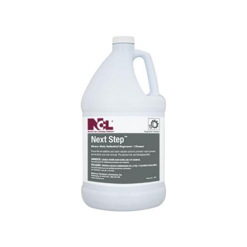 Next Step Heavy Duty Industrial Degreaser Cleaner, 1 gal (Carton of 4)