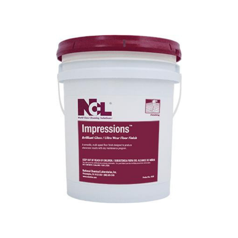 Impresions Brilliant Gloss / Ultra Wear Floor Finish, 5 gal (Each)