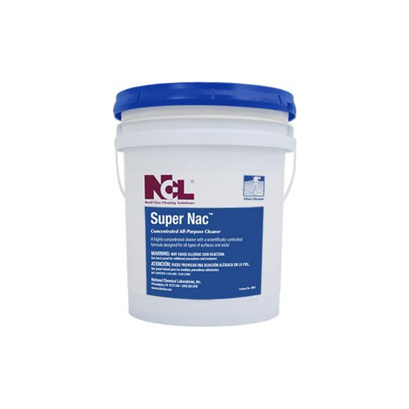 Super Nac Concentrated All Purpose Cleaner, 5 gal (Each)